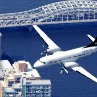 YS-11が9年ぶりに日本の空を復活飛行